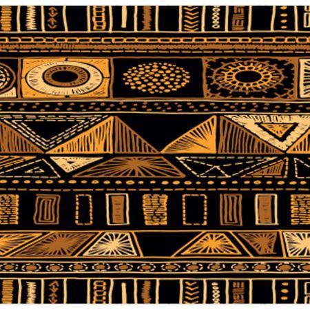 Tecido Quadrado Digital 49 X 49cm - Étnica - 8116