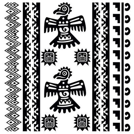 Tecido Quadrado Digital 49 X 49cm - Étnica - 8118