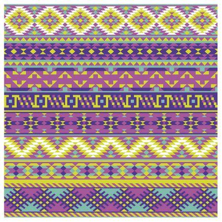Tecido Quadrado Digital 49 X 49cm - Geométrico Colorido