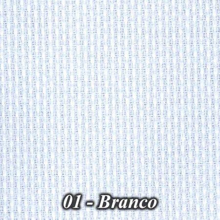 Tecido Vagonite Cores Estilotex (0,50x1,40) 01 - Branco