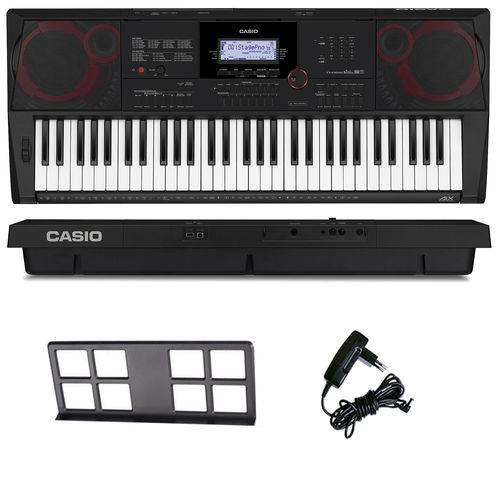 Teclado Arranjador Musical 61 Teclas Ctx-3000 Casio com Fonte