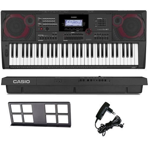 Teclado Arranjador Musical 61 Teclas Ctx-5000 Casio com Fonte