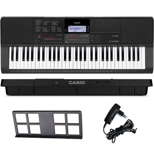 Teclado Arranjador Musical 61 Teclas Ctx-700 Casio com Fonte