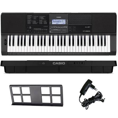 Teclado Arranjador Musical 61 Teclas Ctx-800 Casio com Fonte