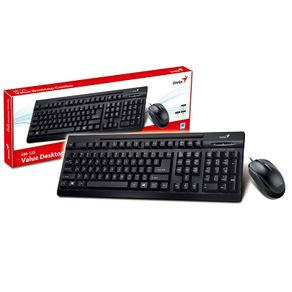 Teclado e Mouse USB Genius KM-125 31330209103 Preto