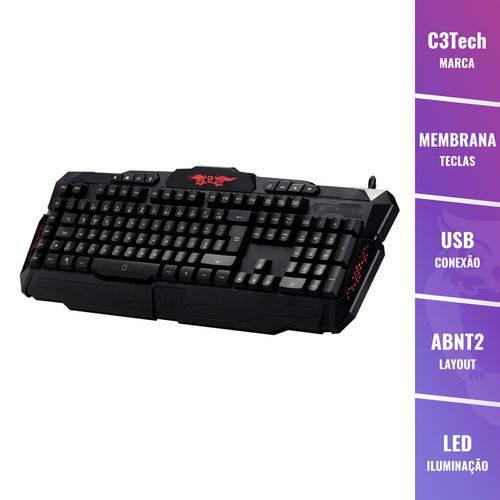 Teclado Gamer C3tech Kg-100BK USB