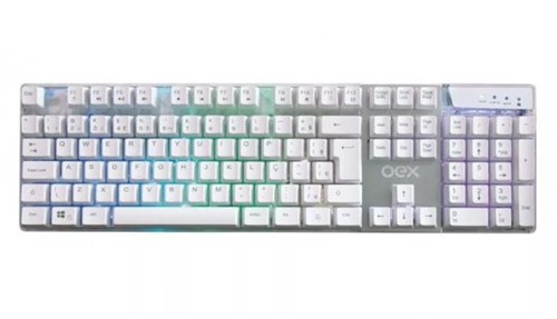 Teclado Gamer Oex Prismatic Tc205 Backlight Usb