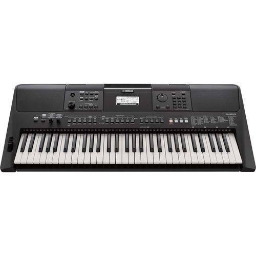 Teclado Musical 61Teclas com Fonte PSR E463 Preto Yamaha