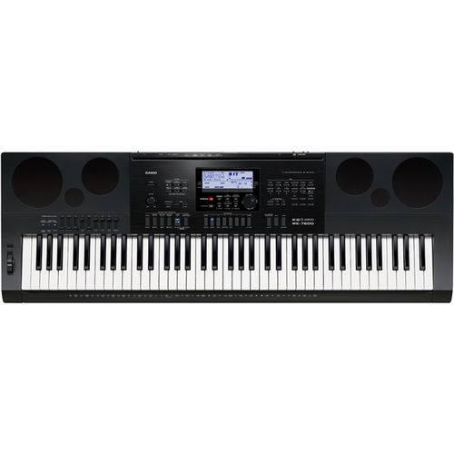 Teclado Musical Casio Wk7600 76 Teclas Profissional com Fonte