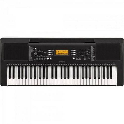 Teclado Musical Yamaha PSR-E363 Preto com 61 Teclas e 574 Timbres