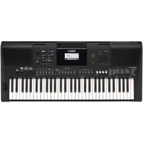 Teclado Yamaha Psr E-463, 61 Teclas - com Fonte Bivolt e Teclas Sensitivas