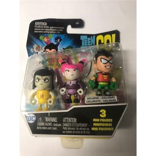 Teen Titans Go! - Mini Figuras com 3 - Dxn85 - MATTEL