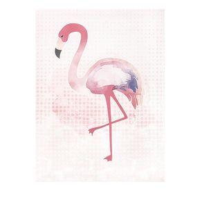 Tela Decorativa Flamingo