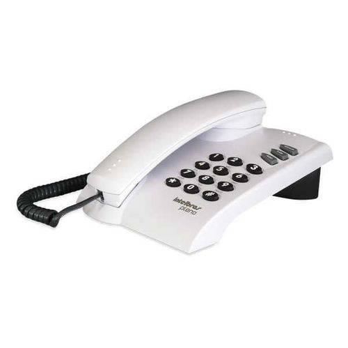 Telefone C/Fio Pleno S/Chave Cinza Artico Intelbras