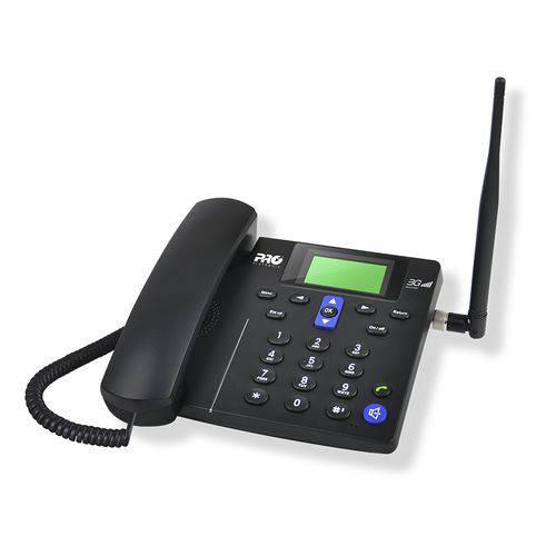 Telefone Celular de Mesa com 3G Proeletronic PROCS-5030