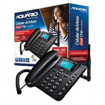 Telefone Celular Rural Mesa 2 Chip Mais Vendido do Brasil - Aquario