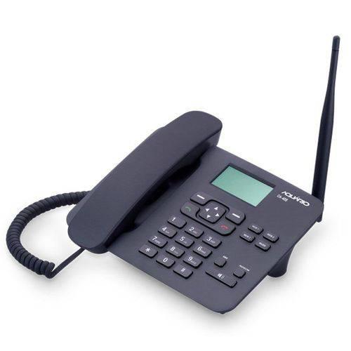 Telefone Celular Rural Urbano CA-40S Aquario Quadriband