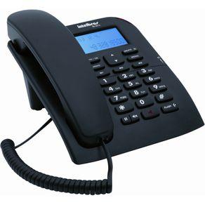 Telefone com Fio Intelbras C/ ID TC60 Preto