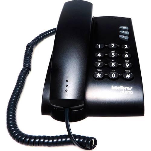 Telefone com Fio Intelbras Pleno