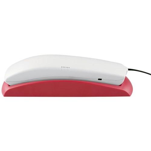 Telefone com Fio para Mesa ou Parede TC20 - Cinza Ártico / Rosa - Intelbras