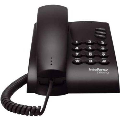 Telefone com Fio Pleno Grafite Intelbras