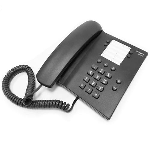 Telefone com Fio Preto DA100 Infinite