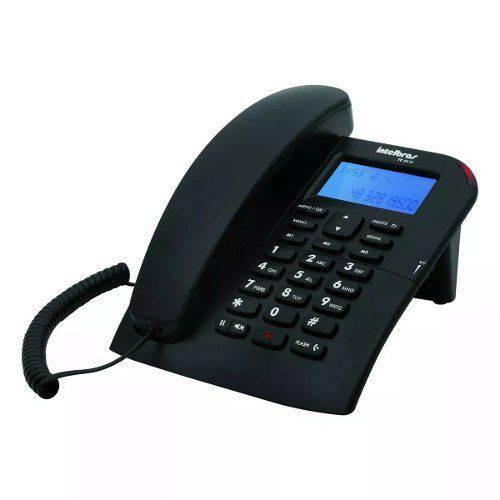 Telefone com Fio Tc 60 Id Intelbras Viva Voz Preto