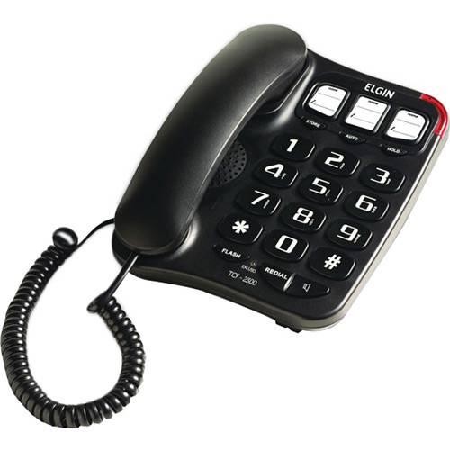 Telefone com Fio TCF-2300 e Viva-voz