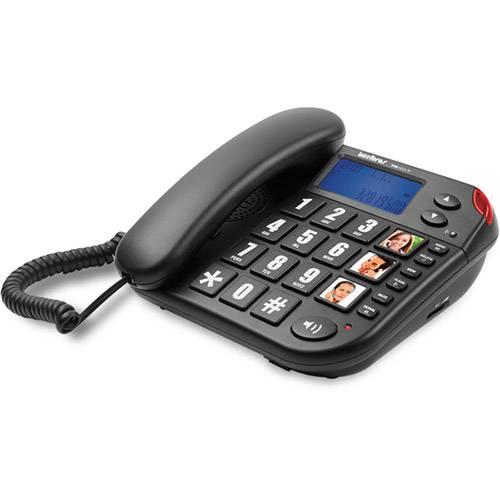 Telefone com Fio Tok Fácil ID - Preto - Intelbras
