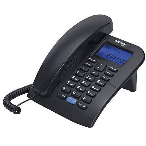 Telefone com Fio Viva Voz e Identificador Intelbras Tc 60 Id