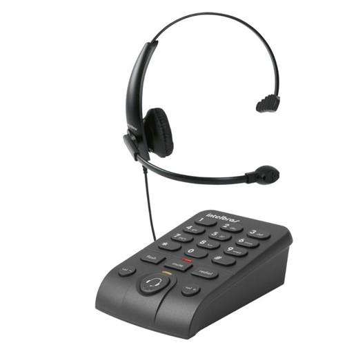 Telefone com Headset Monoauricular HSB50 - Intelbras