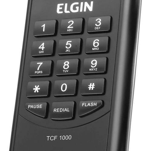 Telefone de Gondola Elgin Tcf-1000 Preto