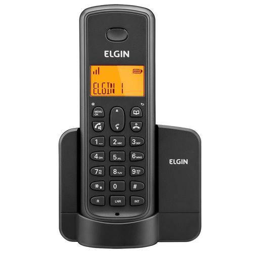 Telefone Elgin Tsf-8001 Sem Fio Preto