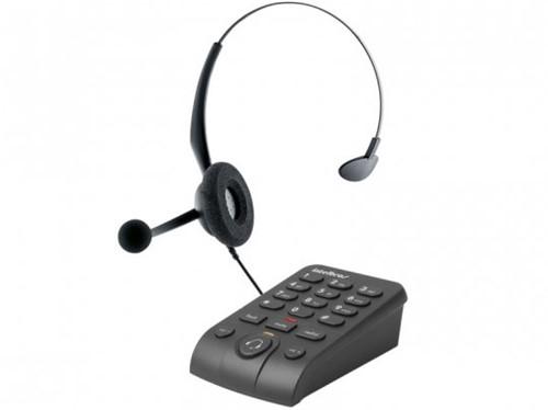 Telefone Headset Intelbras HSB 50, Analógico