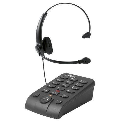 Telefone Headset Intelbras Hsb50 Preto - 4013330