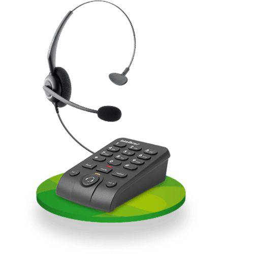 Telefone Headset - Intelbras Hsb50