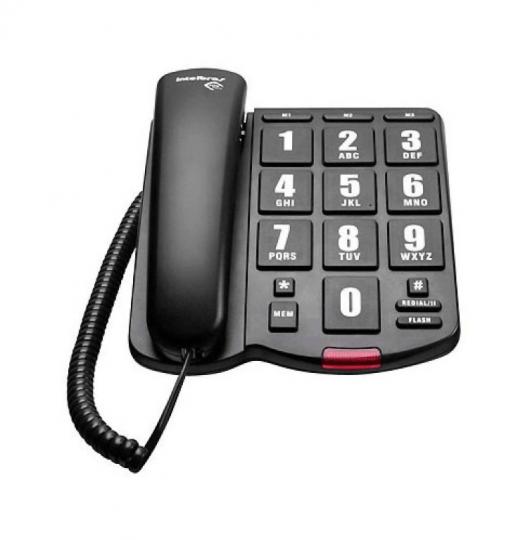 Telefone Intelbras com Fio Tok Fácil
