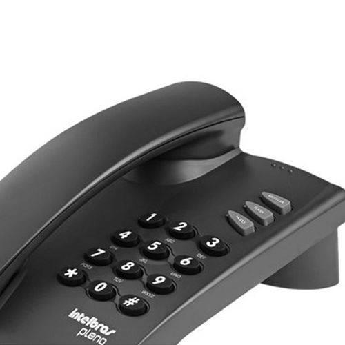 Telefone Intelbras Pleno 4080055 - Grafite