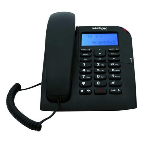 Telefone Intelbras TC60ID Preto