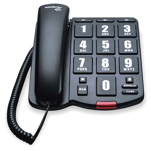 Telefone Intelbras Tok Fácil DIVERSOS