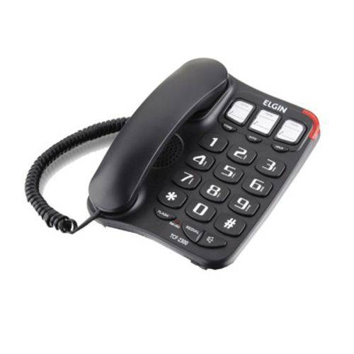 Telefone Mesa Teclao Viva Voz Elgin