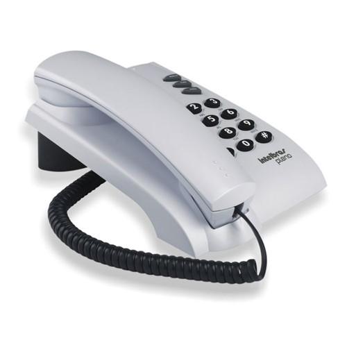 Telefone para Mesa ou Parede Pleno Cinza Ártico Intelbras