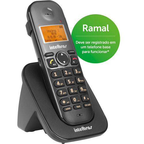 Telefone Ramal Sem Fio Intelbras Ts 5121