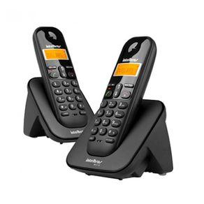 Telefone S/ Fio C/ID TS3112 (Base+Ramal) Intelbras