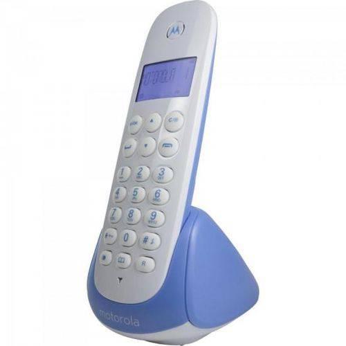 Telefone S/fio Digital C/ Ident de Chamadas Moto700b Branco/azul Motorola