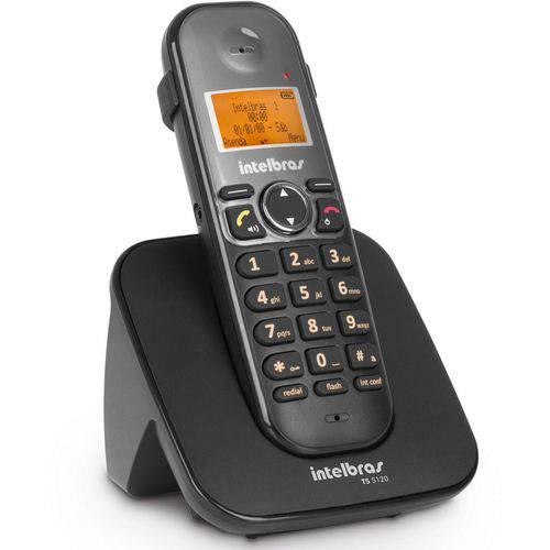 Telefone Sem Fio com Id e com Saída para Fone de Ouvido Ts