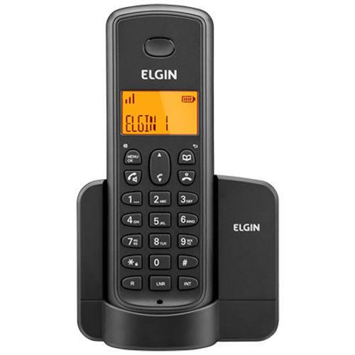 Telefone Sem Fio com Id e Viva Voz Tsf8001 Preto Elgin