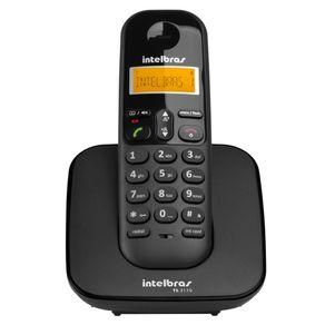 Telefone Sem Fio com ID Intelbras TS3110 Preto