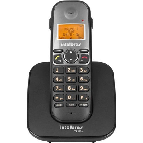 Telefone Sem Fio com ID Intelbras TS5120 Bivolt