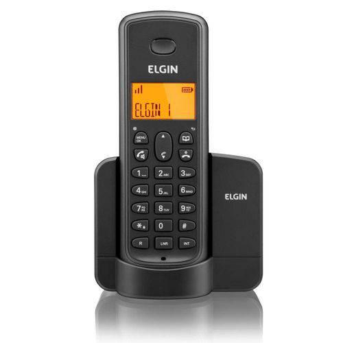 Telefone Sem Fio com Id Tsf-8001 Preto Elgin